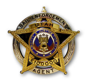 Bail Enforcement Agent Badge
