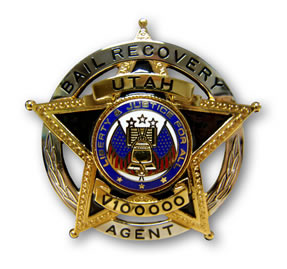 Bail Recovery Agent Badge
